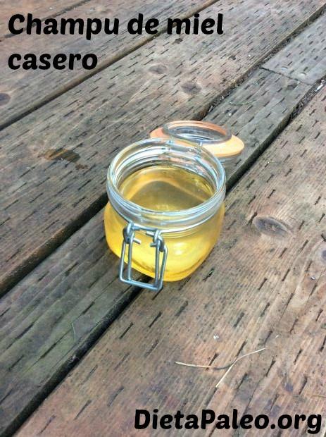 champu de miel casero