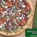 Receta Paleo:Pizza al pesto