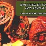 Comunidad Dieta Paleo: Rollitos de Carne con Espinaca