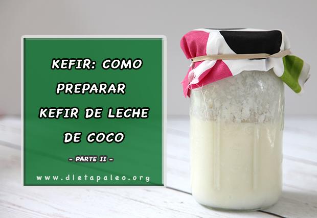 Kefir de leche de coco