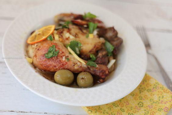 pollo-marroquí-con-limones-preservados