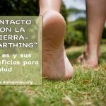 """""""Earthing"""" o contacto con la tierra"""