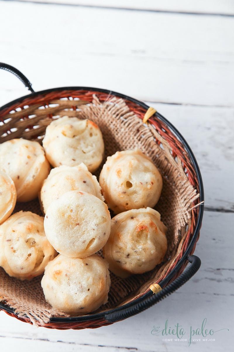 pan de yuca receta paleo