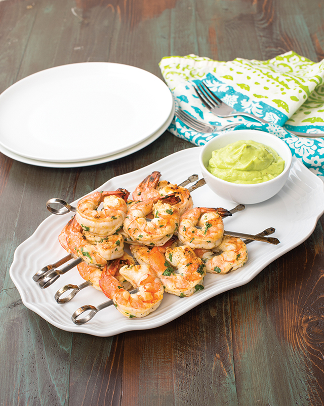 Cilantro-Lime-Shrimp